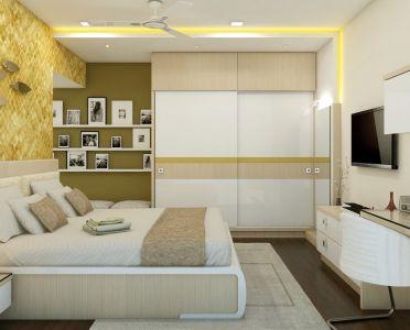 Modern Bedroom by Sai Kiran