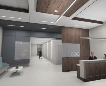 Office Tower Lobby by Suzanne Stiers
