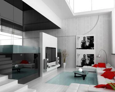 Living Room, by Hassan M Alserihi