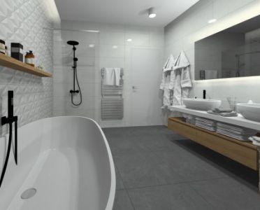 Bathroom View 1 by Simona Kushnirova