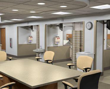 Dialysis – Nurses Station, by EliBjr (Murray Associates)