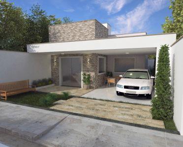 Fachada Residencial (sem muro) by Gianfranco Ribeiro