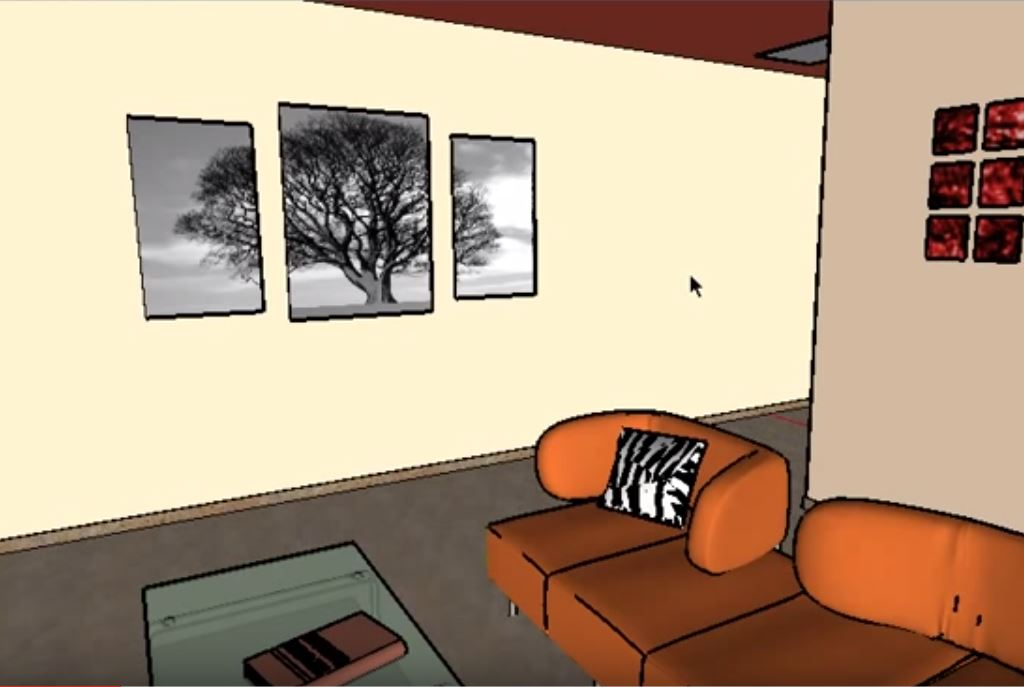 Sketchup Interior Design Use Sketchup Renderings To Improve Client Presentations
