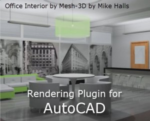 Rendering Plugin for AutoCAD