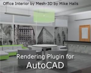 Rendering Plugin for AutoCAD